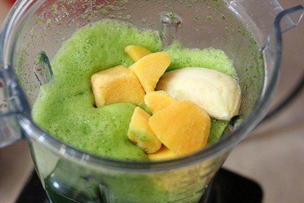 green healthy drink