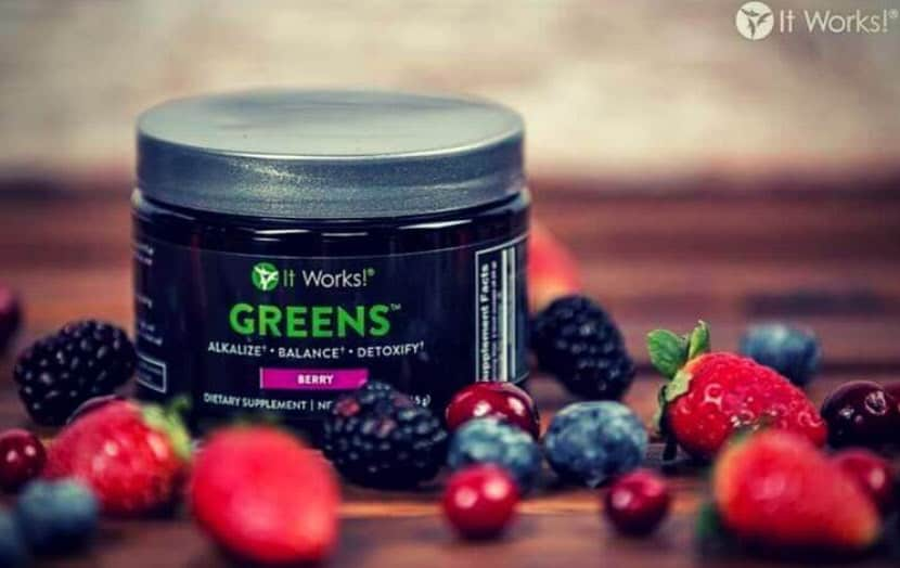 it works greens taste