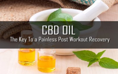 CBD Oil – The Key To a Painless Post Workout Recovery
