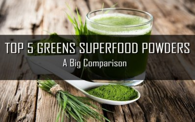 Top 5 Greens Superfood Powders