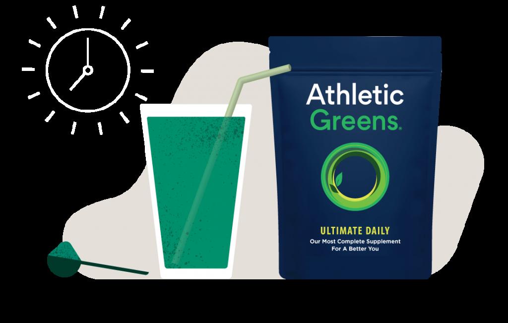 Athletic Greens powder