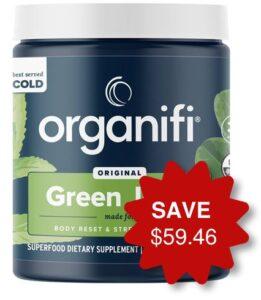 Organifi green juice offer