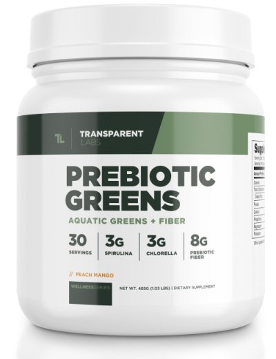 Transparent Labs Prebiotic Greens