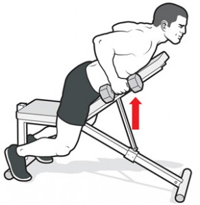 chest-supported row how to