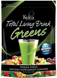kylea total living drink greens 200