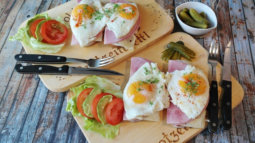 Muscle gain diet Eggs