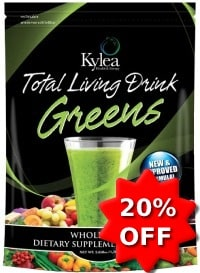 total living greens 20 off coupon